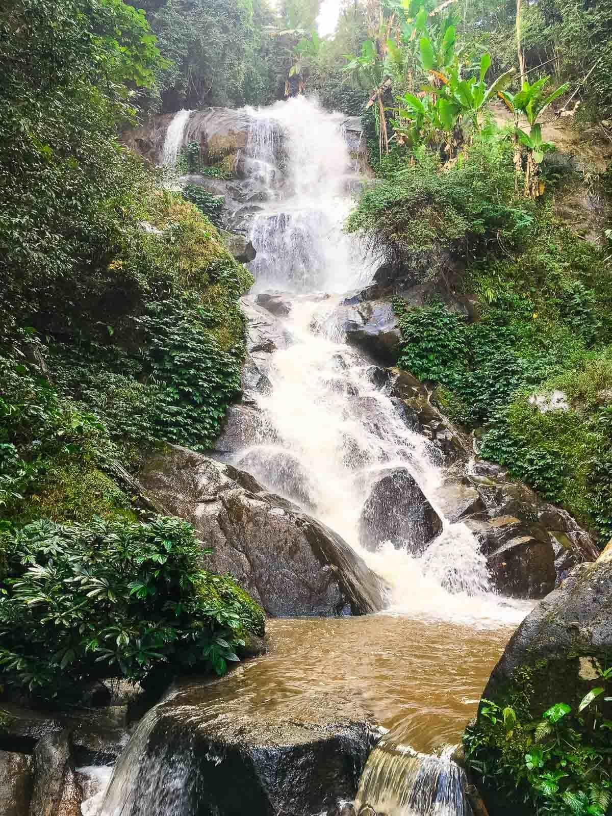 Northern Thailand waterfall