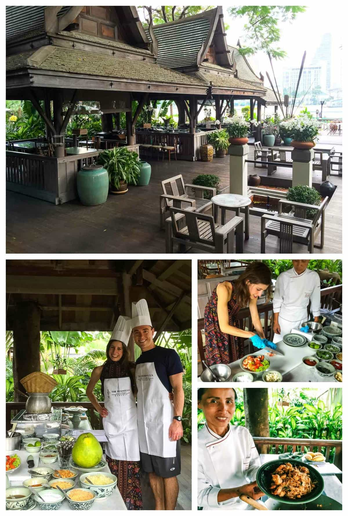 Peninsula Bangkok Thai cooking class