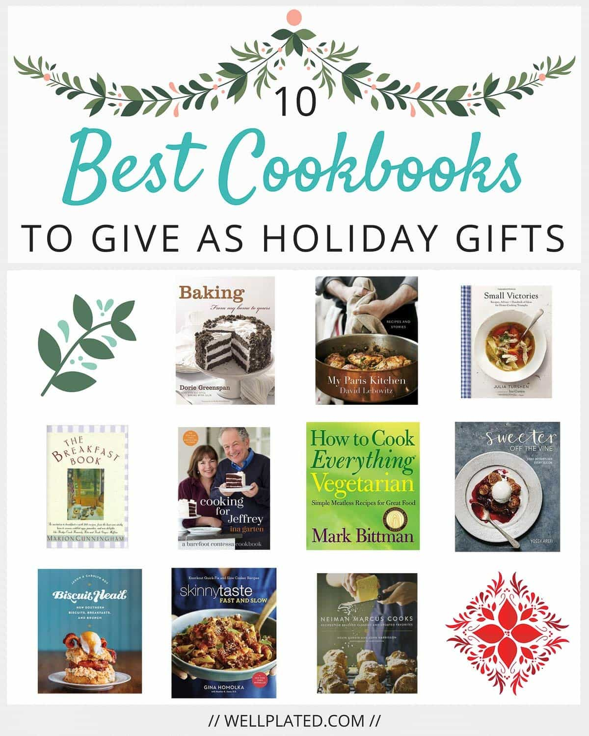 10 Best Cookbooks to Give as Holiday Gifts