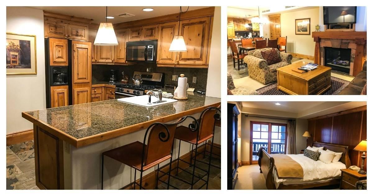 A beautiful, spacious hotel room at Deer Valley Resort