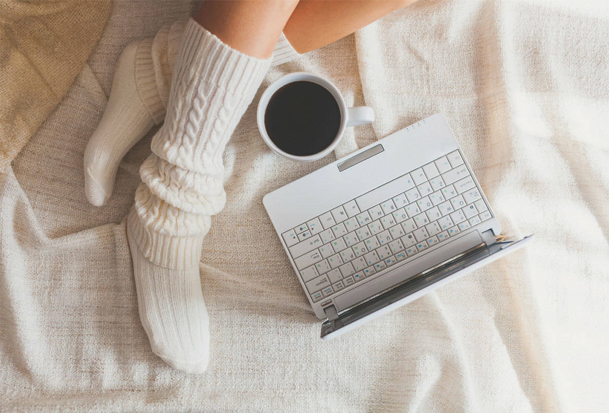 5 little things you can do to be happier - warm socks