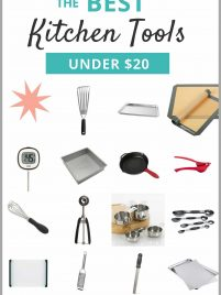 The BEST low cost kitchen tools. Less than $20! A must have list for home cooks and anyone looking to stock their kitchen on a budget. From wellplated.com   @wellplated