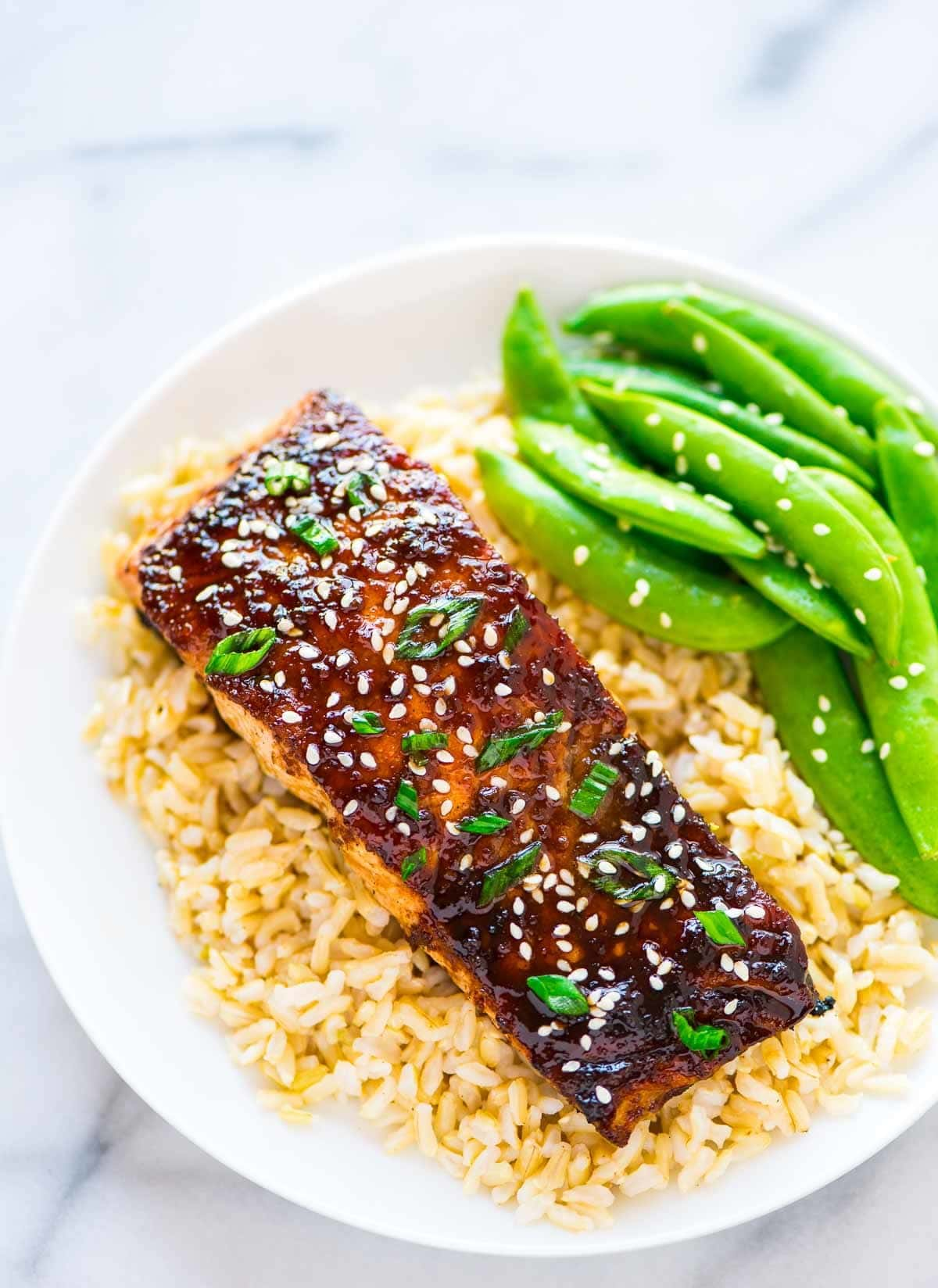 Soy Ginger Salmon Fast And Healthy