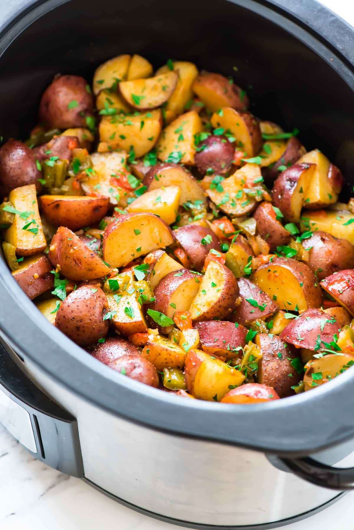 crockpot breakfast potatoes | overnight crockpot breakfast | well
