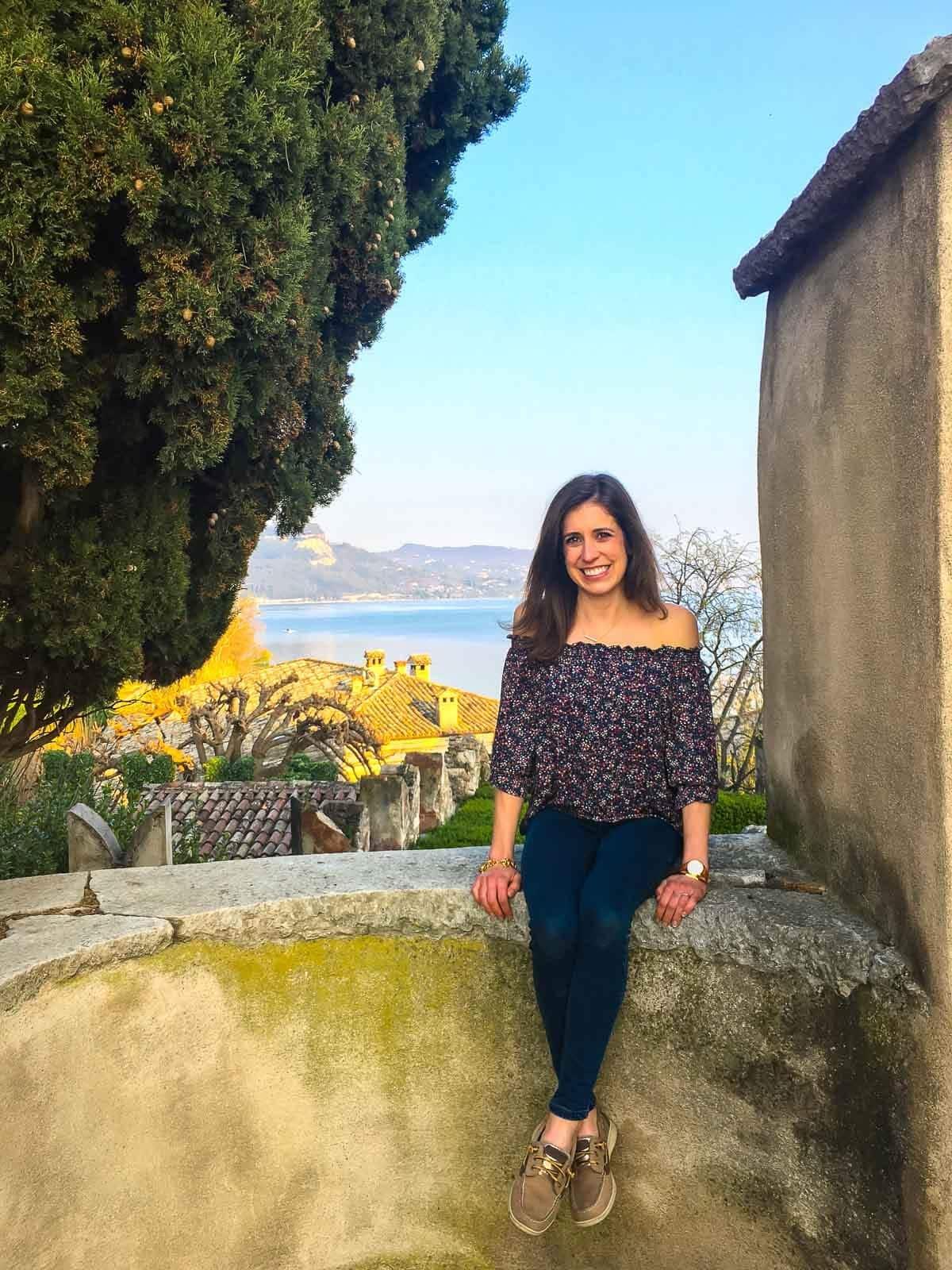 Lake Garda in Verona, Italy