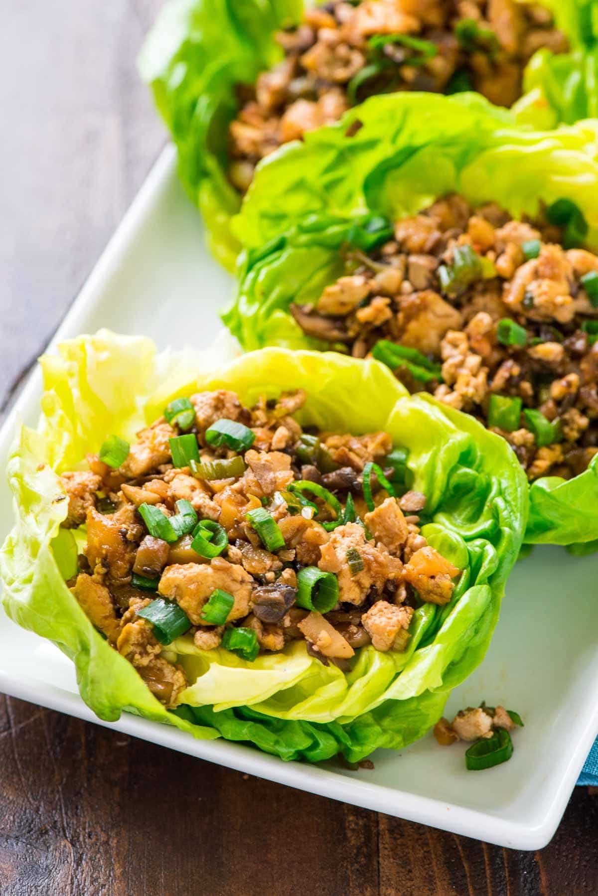 Vegetarian Lettuce Wraps | Copycat PF Changs