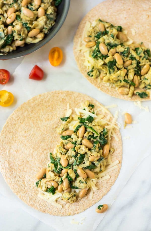 Best Breakfast Quesadillas. Easy, healthy, and high protein. A great make ahead freezer breakfast to have on hand for busy mornings! Recipe at wellplated.com | @wellplated