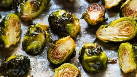Roasted Brussels Sprouts Crispy Caramelized And Delicious