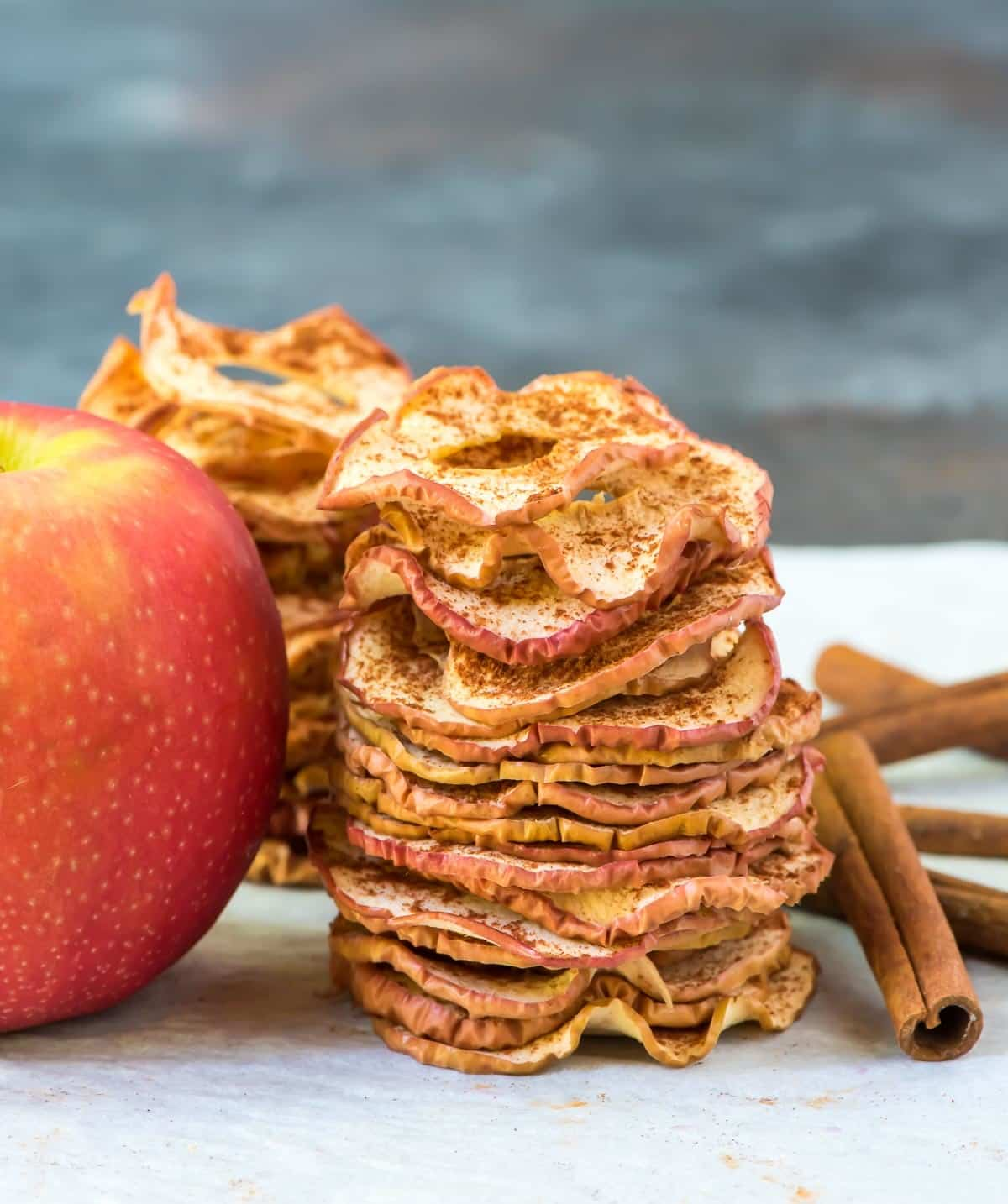Apple Chips Healthy Baked Snack Wellplated Com