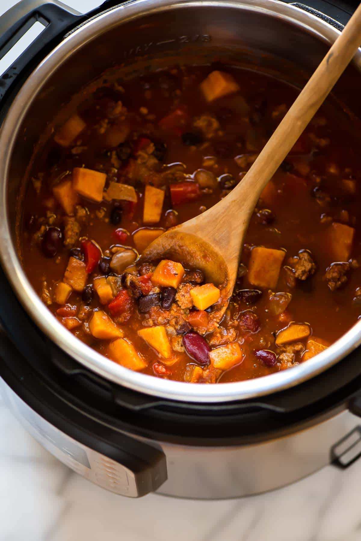 Instant Pot Chili Easy Amazing Wellplated Com