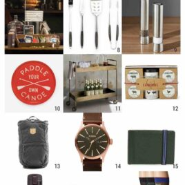 25 Perfect Gift Ideas for your husband, boyfriend, dad, or any guy you love! Gift ideas for all budgets. Perfect for Christmas gifts or a birthday, anniversary, or just because.