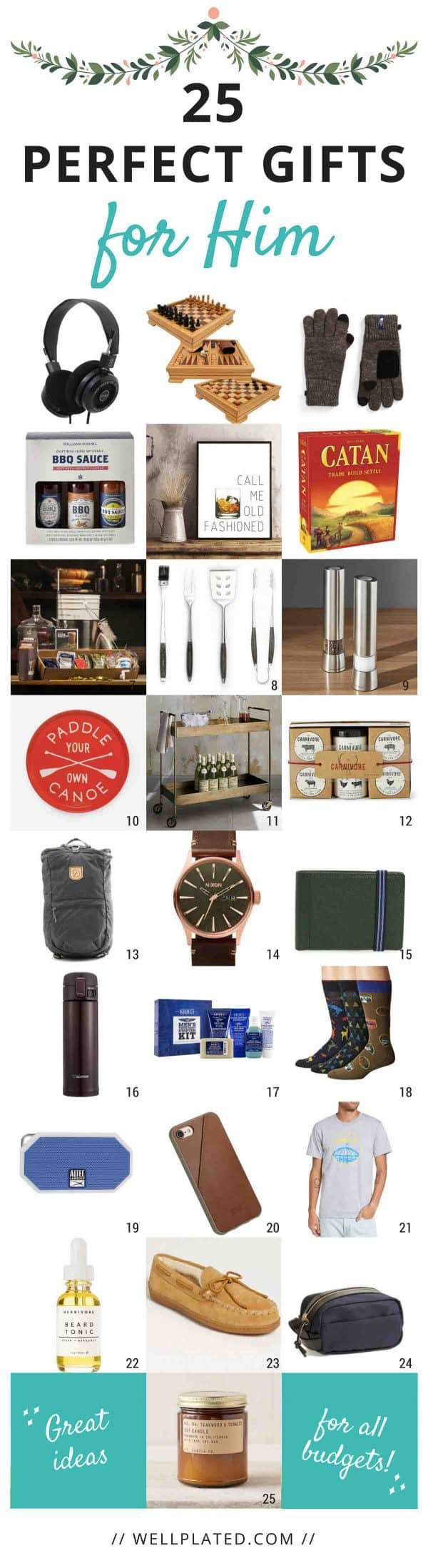 25 Unique Gift Ideas for Your Husband, Dad, Boyfriend, and More!