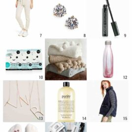 25 Perfect Gift Ideas for your mom, girlfriends, best friend, or you! Gifts to suit all budgets. Perfect for Christmas gifts, birthdays, or just because.