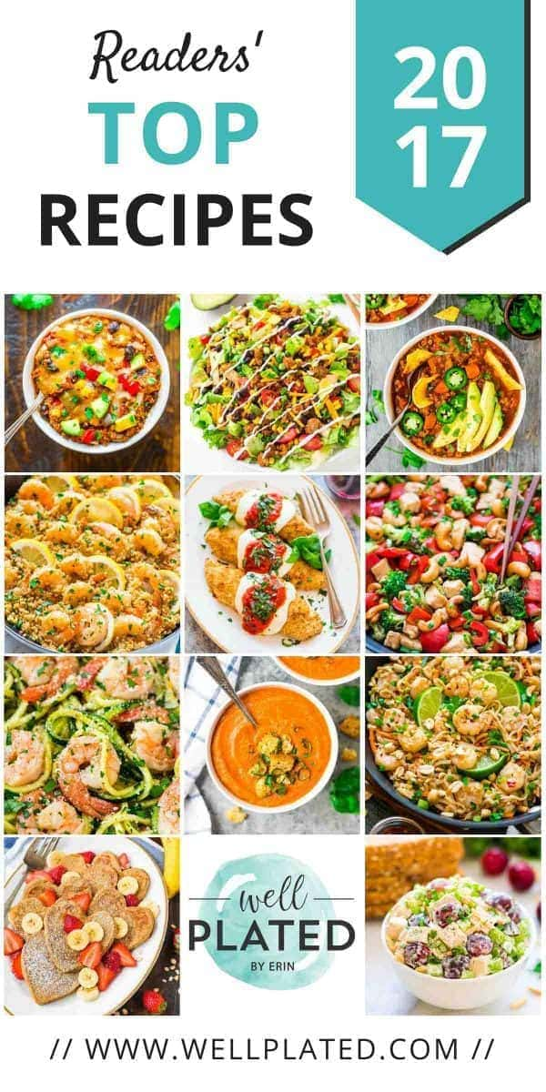 Your favorite healthy recipes of 2017 best healthy recipes of 2017 reader tested and approved wholesome recipes anyone can make forumfinder Gallery