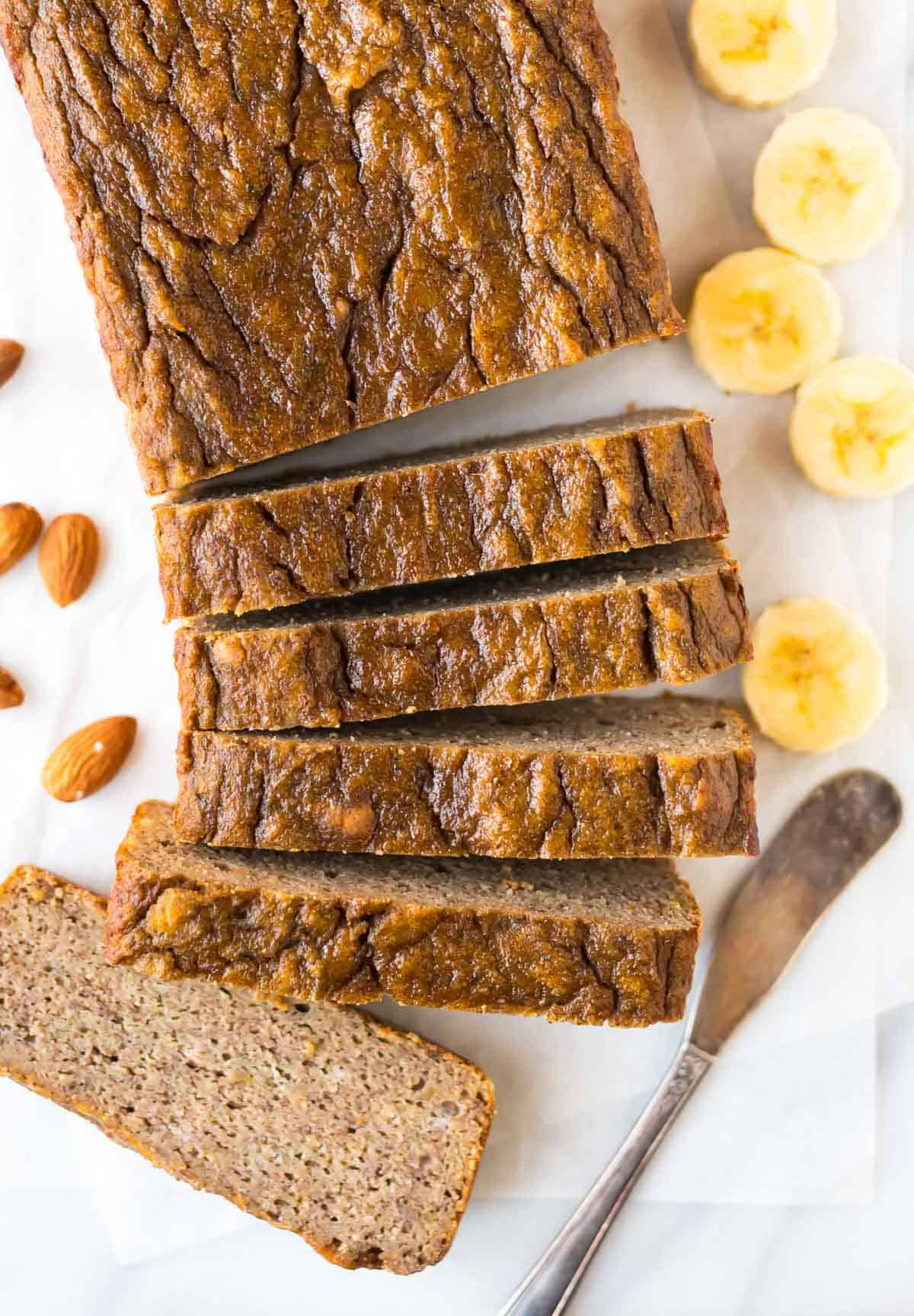 Easy Banana Bread Recipe With Almond Flour