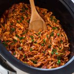 Slow Cooker Crock Pot BBQ Chicken recipe.