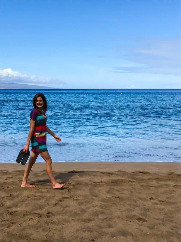 Walking Kaanapali Beach, THE best beach in Maui!