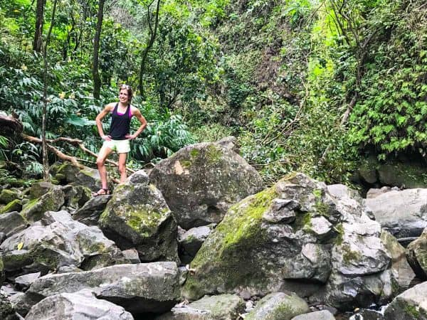 Waterfall Hike on the Road to Hana, one of the best Maui activities!