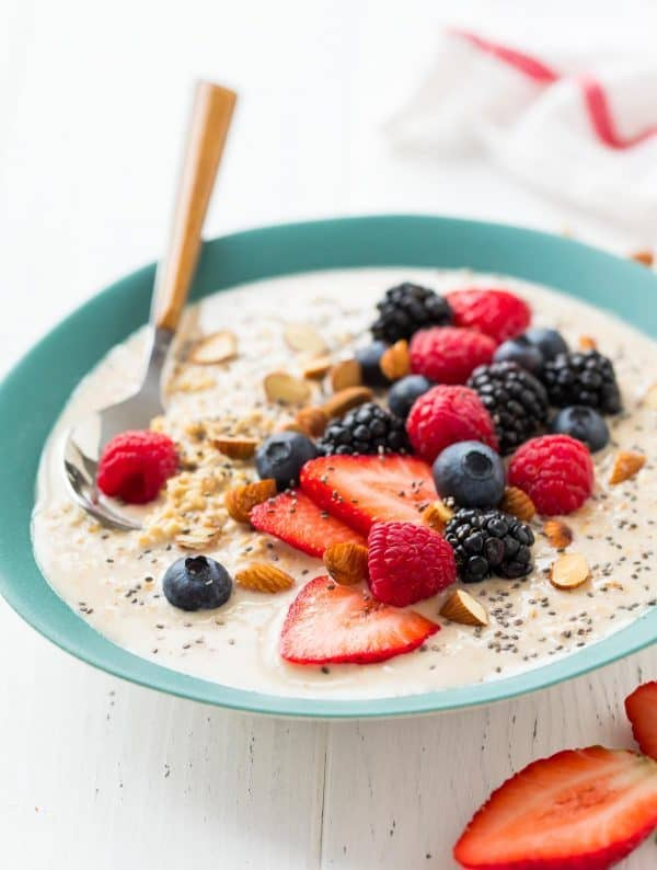 Best Overnight Steel Cut Oats. An easy, healthy breakfast! Simply mix up the oats, stick them in the refrigerator overnight, and eat in the morning. Totally customizable (make these overnight steel cut oats vegan with nondairy milk) and delicious!