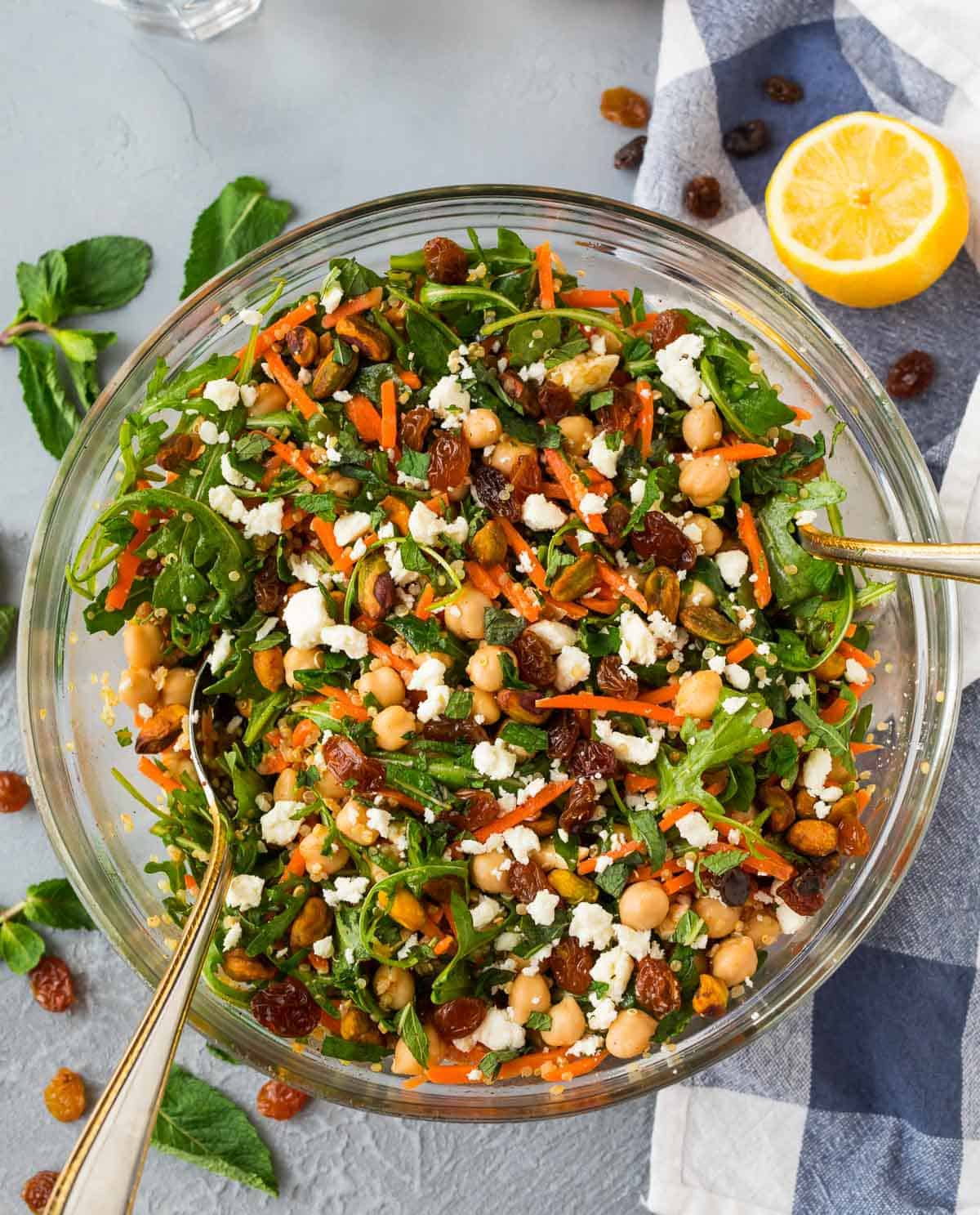 Moroccan Chickpea Salad | Well Plated by Erin