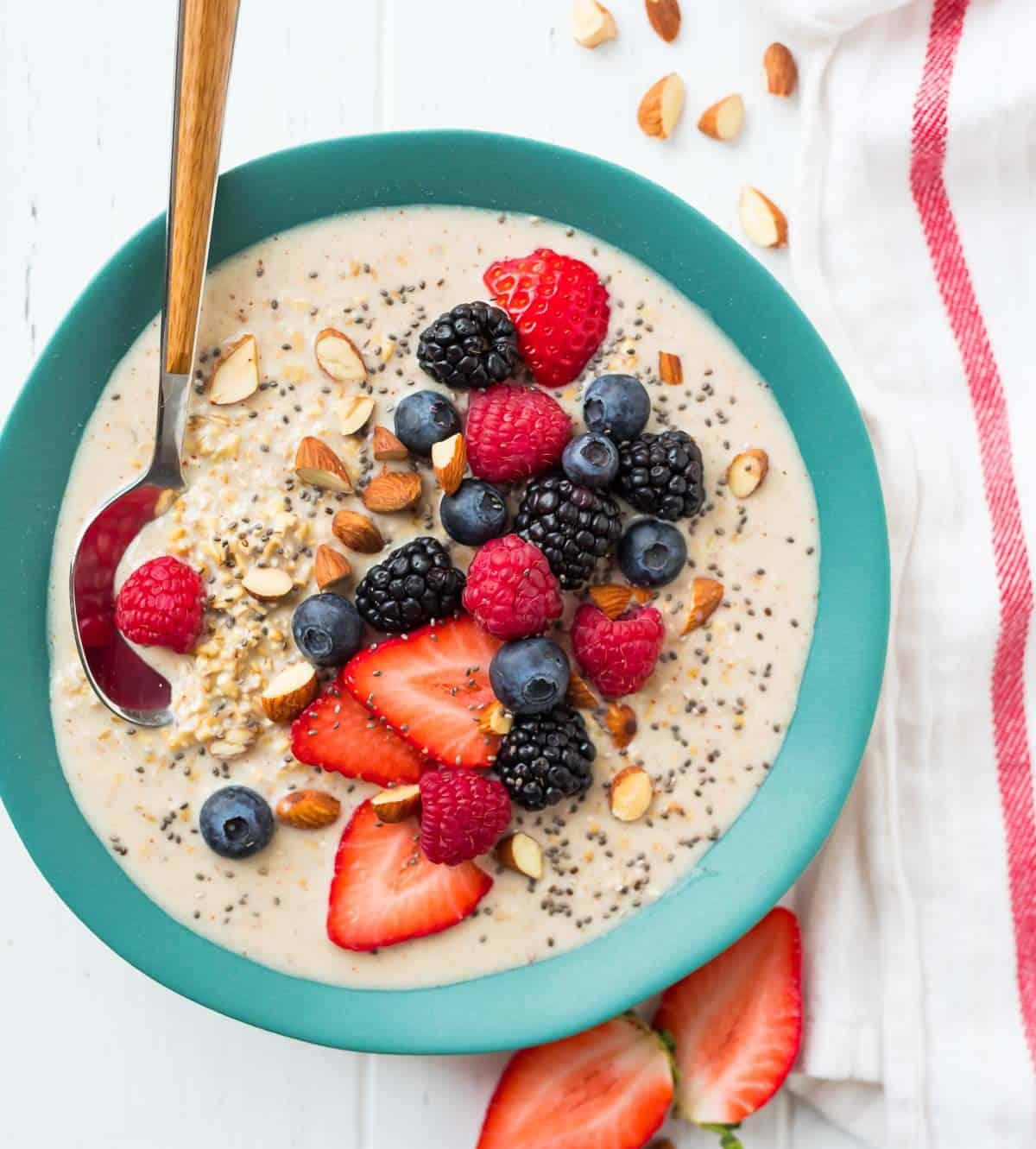 Oatmeal - menu diet tanpa nasi