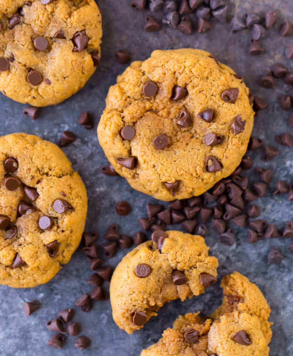 Easy Peanut Butter Protein Cookies. Gluten free, high in protein, and low carb. Perfect for high protein snacks!