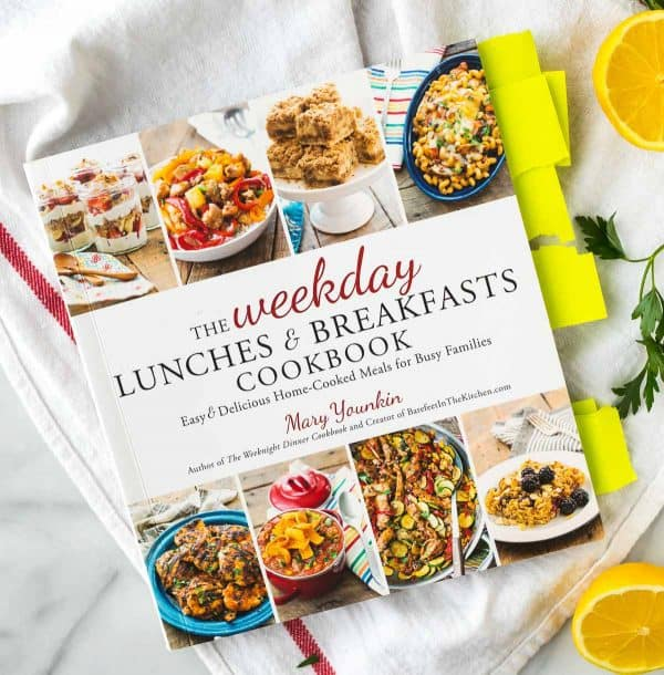 The Weekday Lunches and Breakfasts Cookbook - Filled with fast and easy recipes.