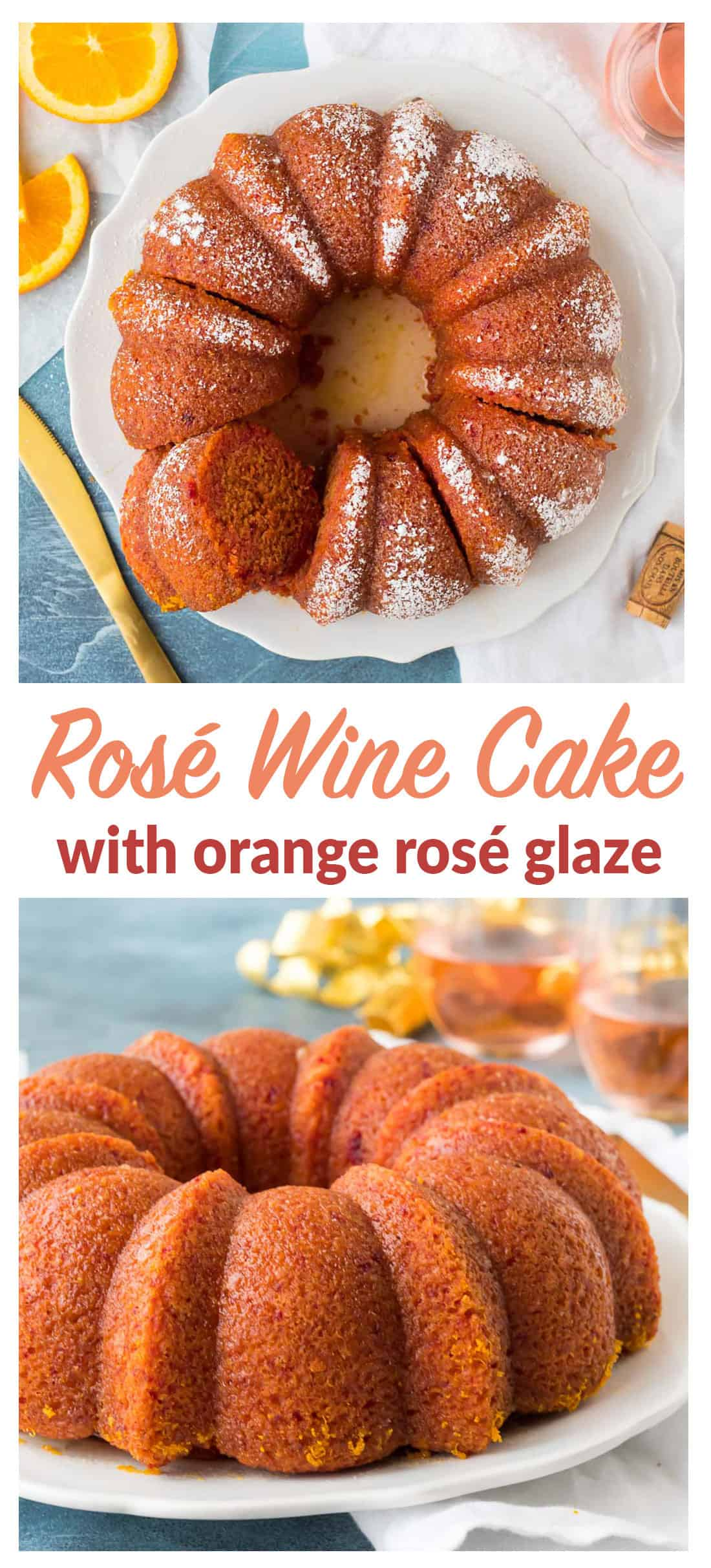 Pink Cake recipe from scratch! This moist, delicious cake gets its pretty pink color naturally from beets and a delicious orange rose wine syrup. Easy and elegant, this fun, girly cake is perfect for birthday party, bridal shower, or any time you are looking for ideas to make a celebration really special. #rose #birthday #pinkcake #pinkdessert
