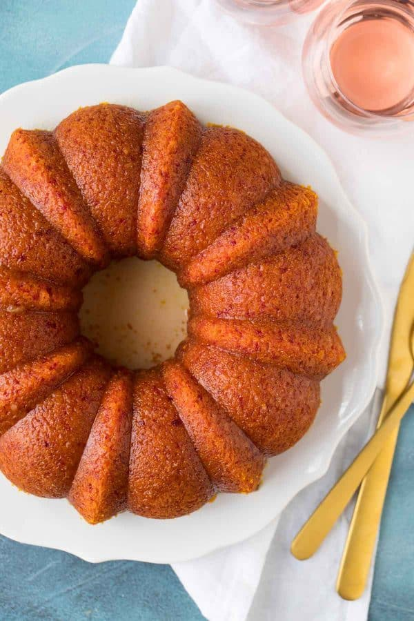 A perfect cake for birthday celebrations and special occasions. Moist, delicious Pink Cake with a tasty orange rose soak.
