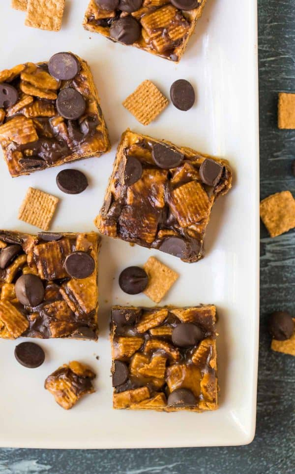 Easy S'mores Treats with Graham Crackers