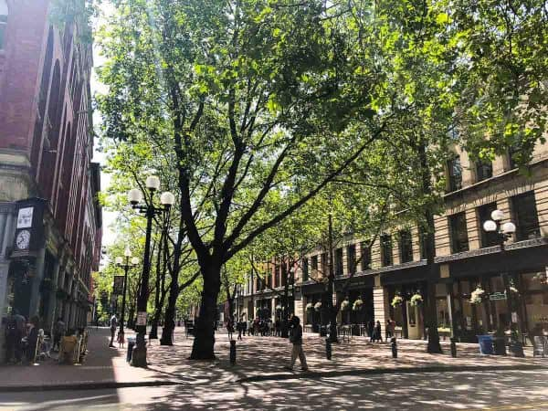 Pioneer Square, a must see when planning a trip to Seattle