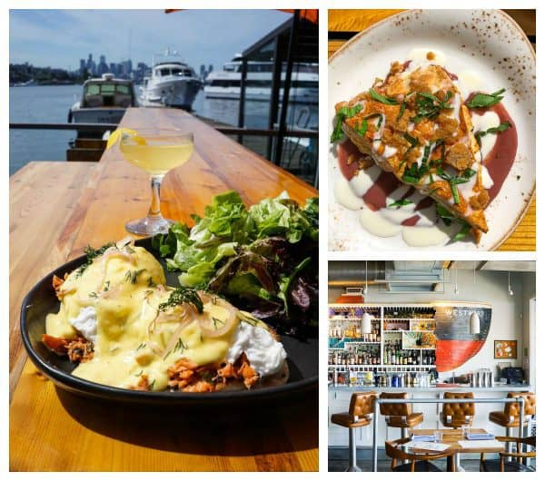 Westward restaurant. One of the best Seattle restaurants. Great for brunch!