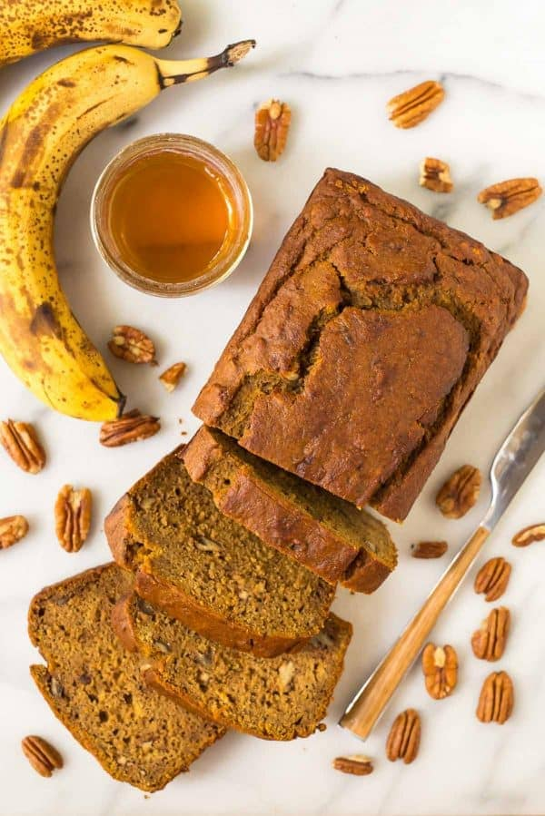 Pumpkin Banana Bread Healthy And Moist
