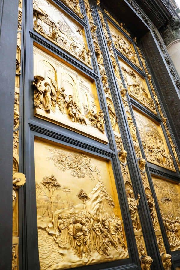 Bronze Baptistry Doors in Florence - The Best Things to Do in Florence