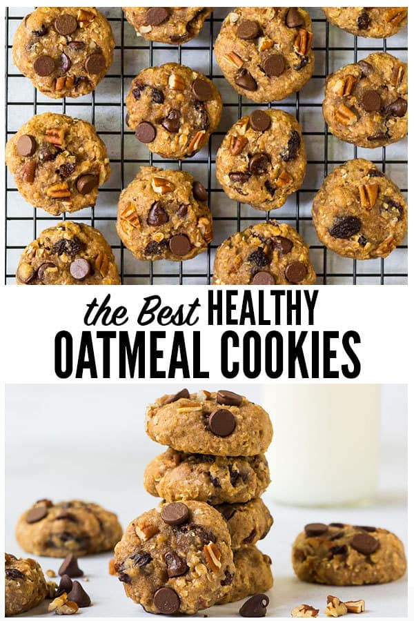 Healthy Oatmeal Cookies With Applesauce