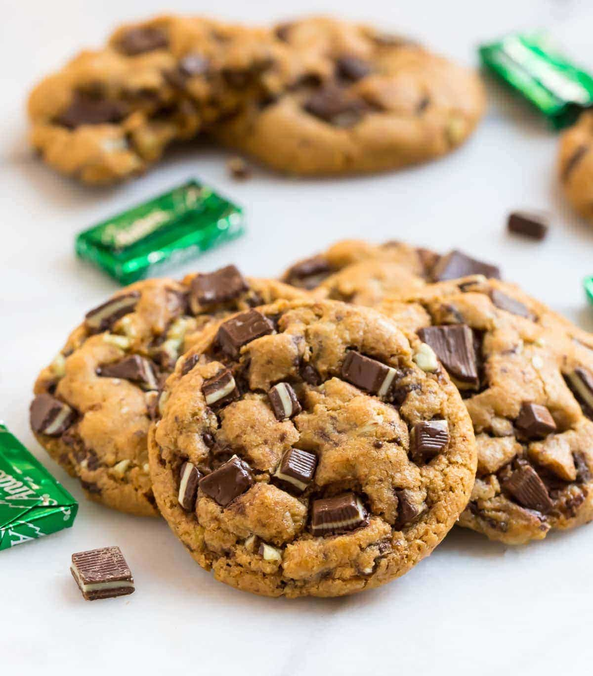 Andes Mint Cookies Festive And Easy Recipe Wellplated Com