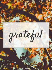 A special thank you message to my readers - from Erin Clarke of Well Plated by Erin