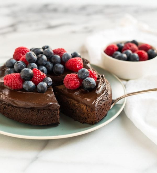 Easy Instant Pot Cake. Make a moist chocolate cake in your electric pressure cooker!