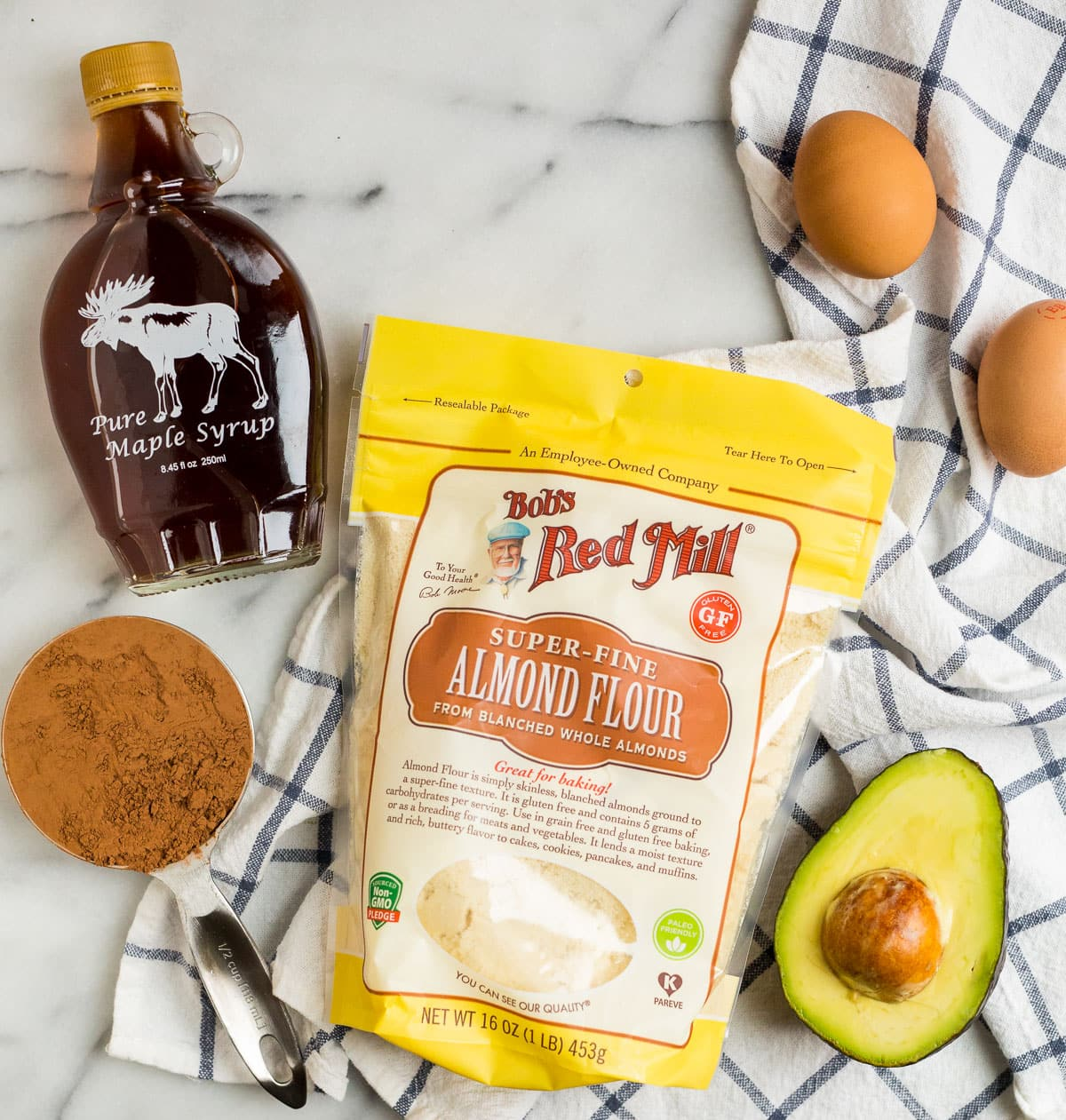 Fudgy Avocado Brownies. A treat that tastes decadent but is made with healthy fats!