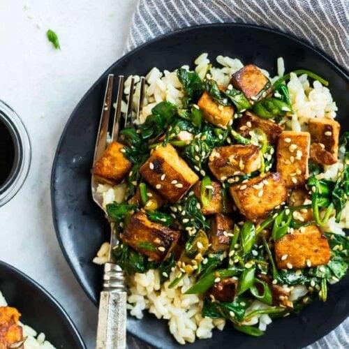 Healthy Vegan Tofu Stir Fry