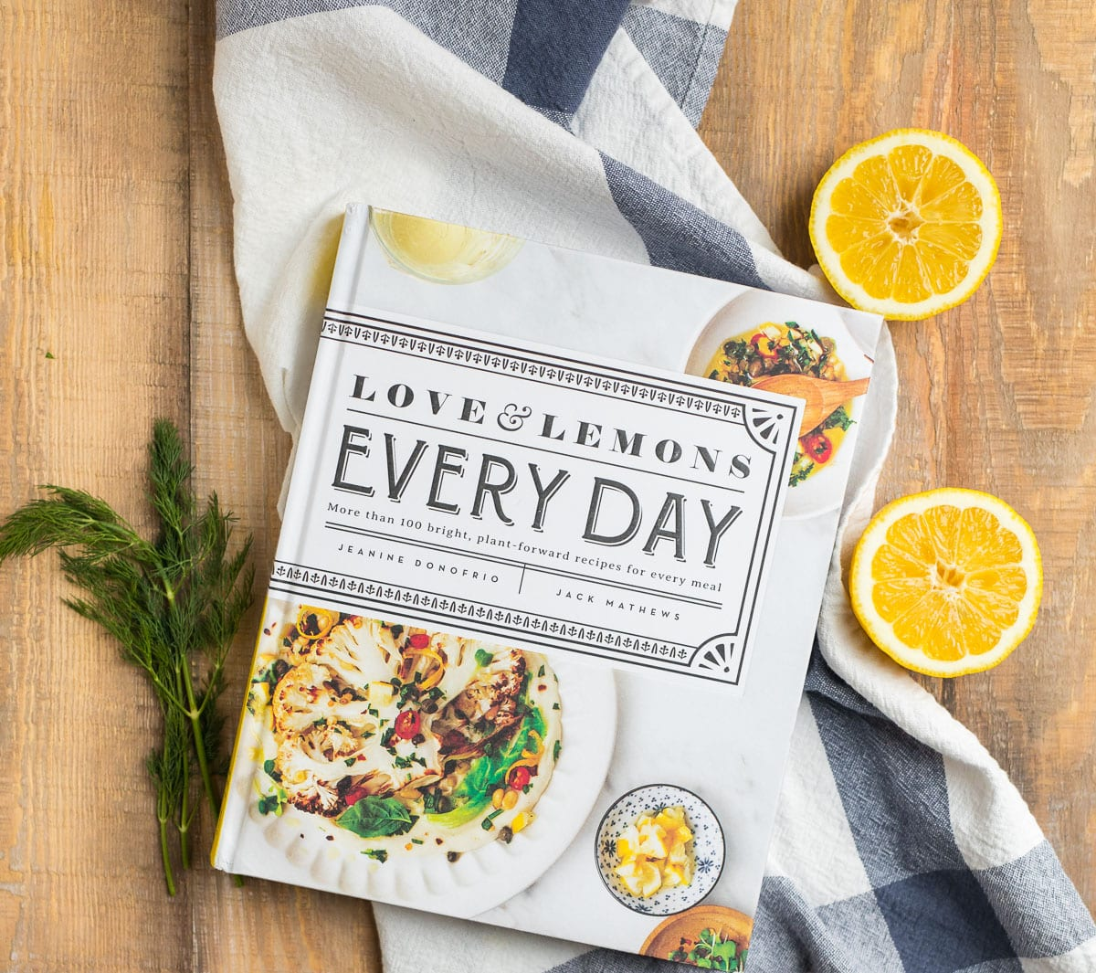 A cookbook filled with tons of delicious and healthy recipes