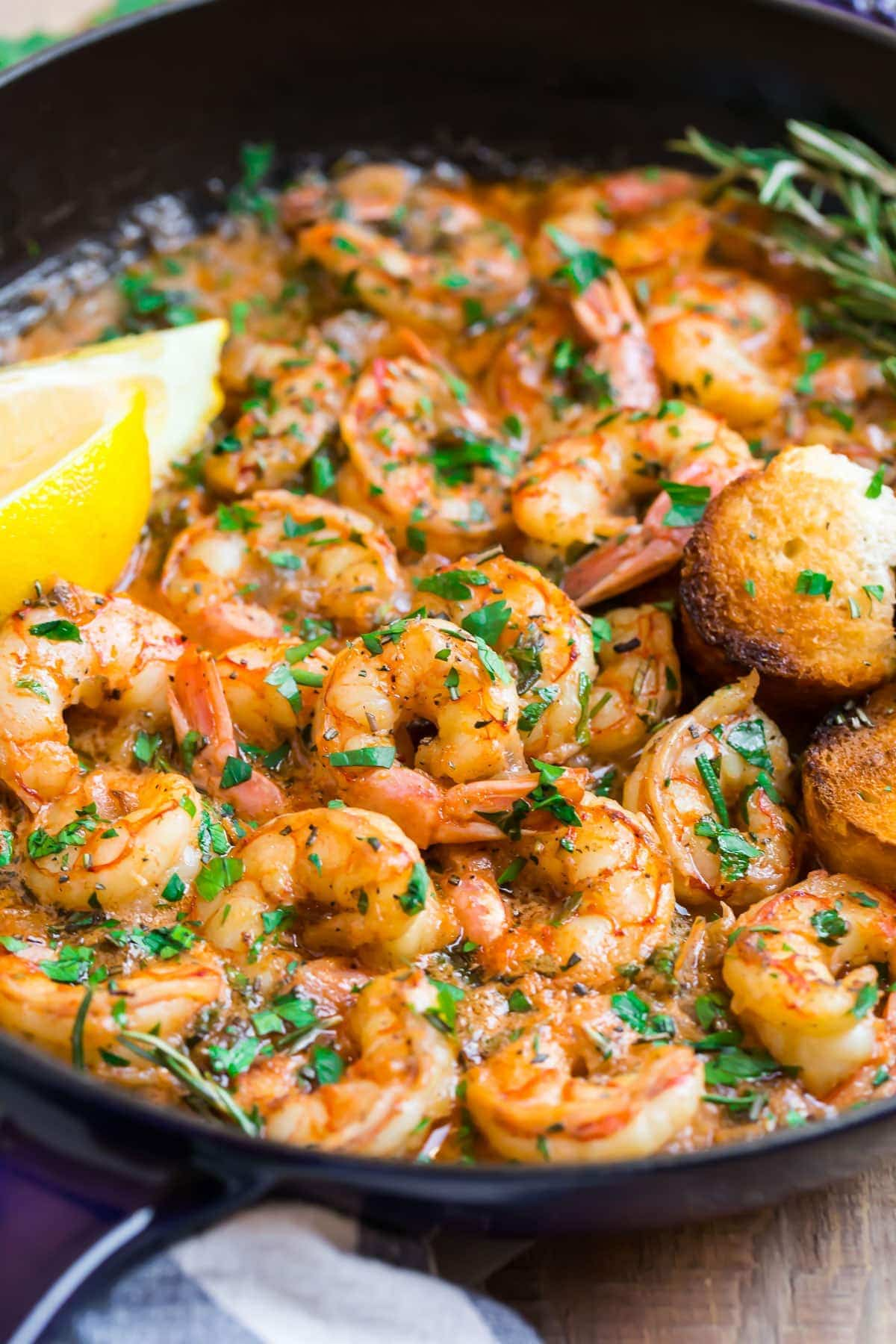 Garlic Butter Shrimp With Lemon Best Ever Recipe,Thin Chicken Breast Recipes Healthy