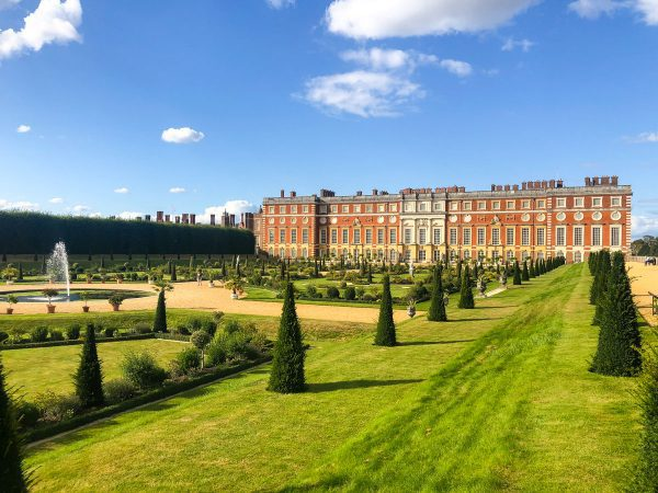Hampton Court and its grounds