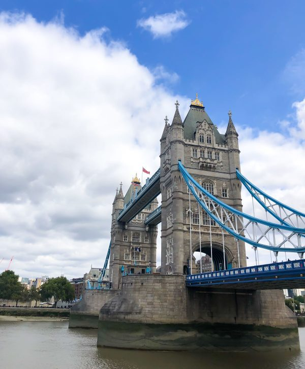 A photo of the Tower Bridge in London