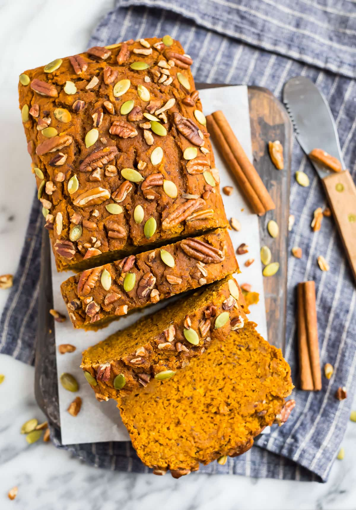 Vegan Pumpkin Bread No Oil Super Moist And Perfectly Spiced