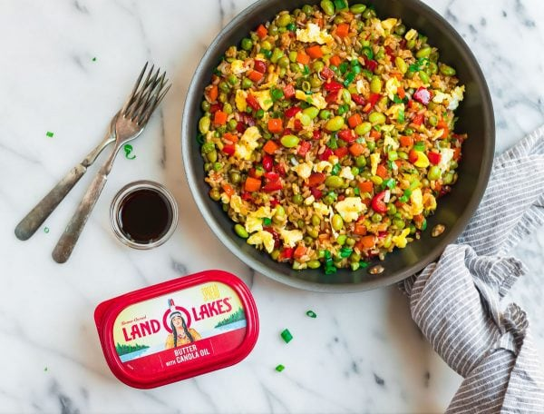 How to make the best fried rice in the world with egg, veggies, and butter