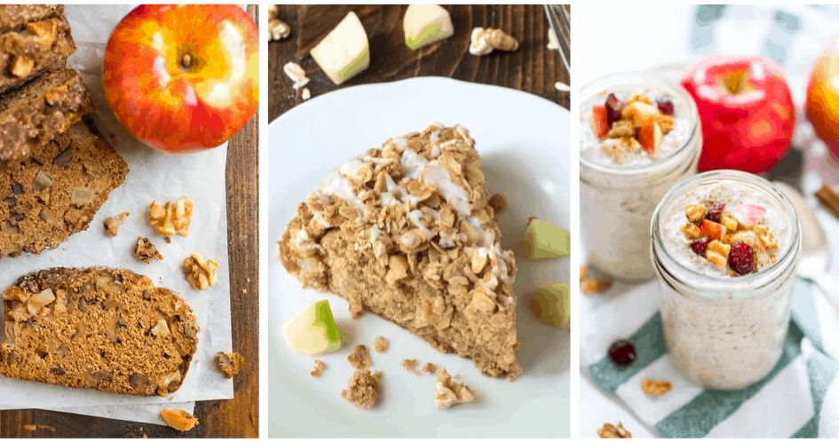 Healthy apple recipes for breakfast