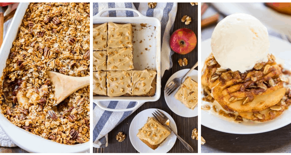 Healthy Apple Recipes for an easy and tasty dessert