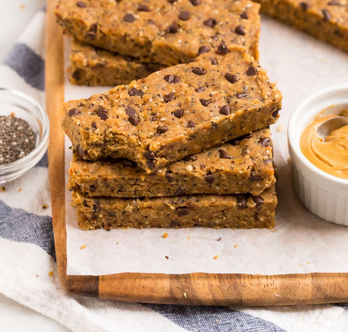 Simple and delicious no bake vegan protein bars