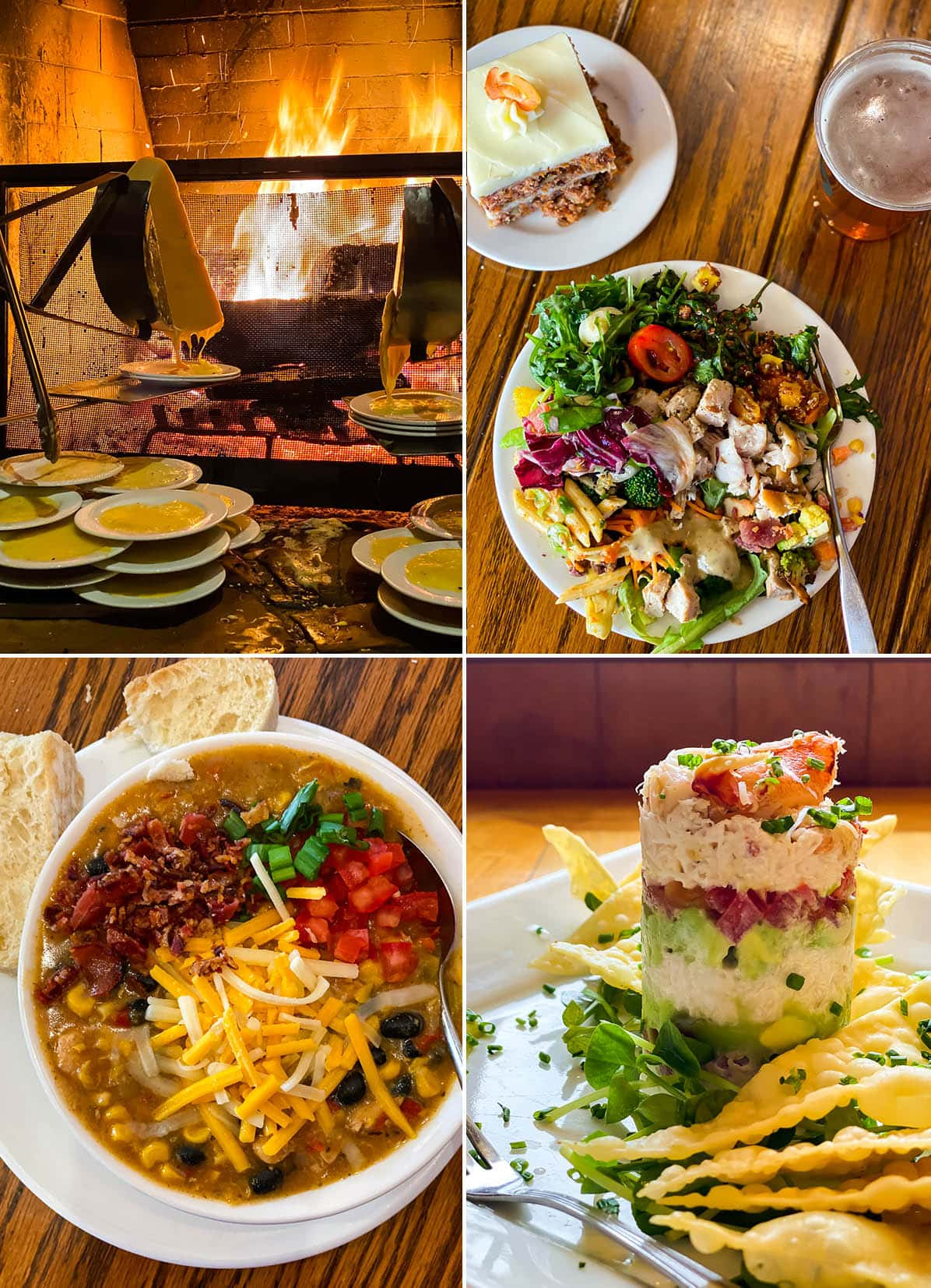A mix of food at Deer Valley Resort